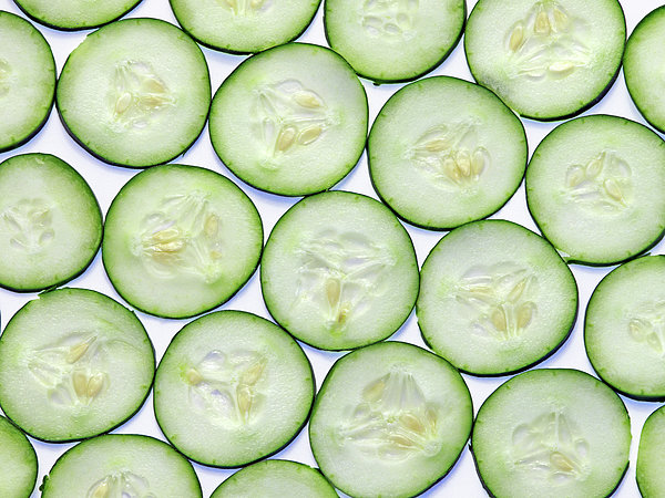 Cucumber Clices Photograph by Photo by Leonardo Martins