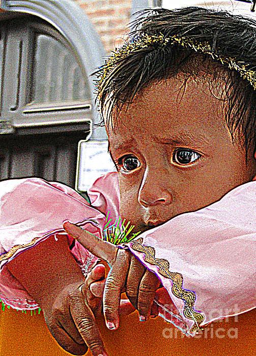 Point Photograph - Cuenca Kids 881 by Al Bourassa