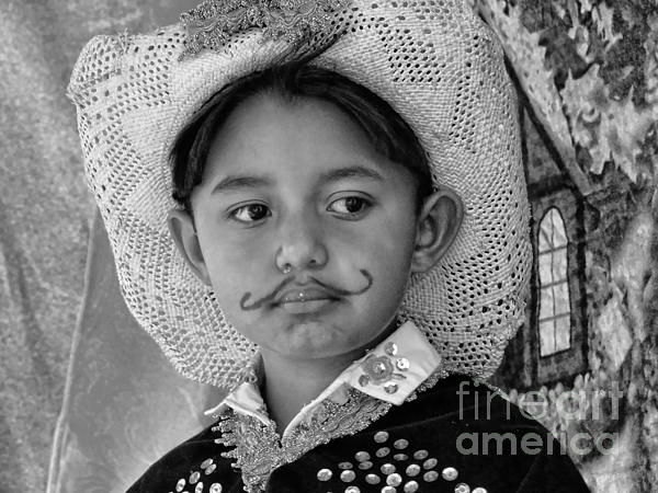 Expression Photograph - Cuenca Kids 883 by Al Bourassa