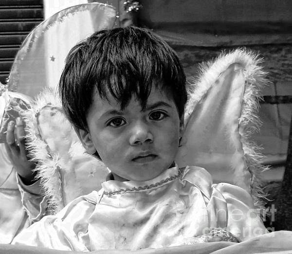 Boy Photograph - Cuenca Kids 893 by Al Bourassa