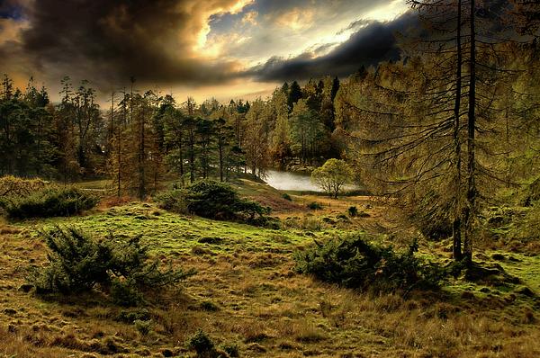 Cumbria Photograph - Cumbrian Drama by Meirion Matthias