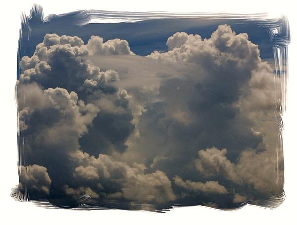 Cloud Photograph - Cumulonimbus by Priscilla Richardson