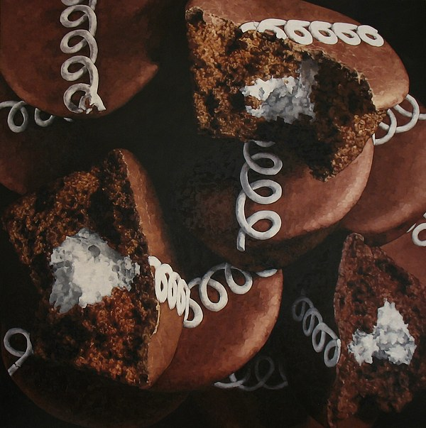 Food Painting - Cupcakes by Pamela Johnson