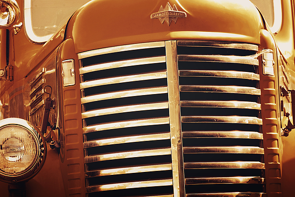 Trucks Photograph - Curbside Classic by Christine Till