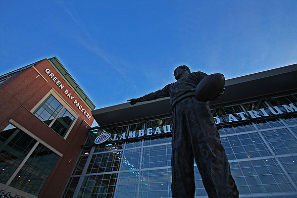 Green Bay Packers Photograph - Curly Lambeau by Ty Helbach