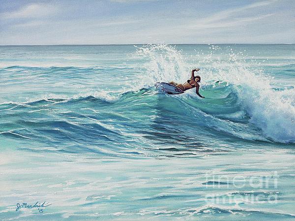 California Painting - Cutting Through The Peak by Joe Mandrick