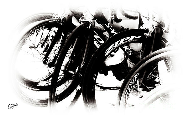 Cycling Photograph - Cycling Art  by Steven Digman