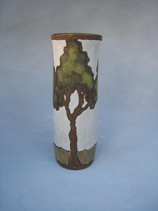 Cypress Trees Ceramic Art - Cypress by Sarah Gutierrez