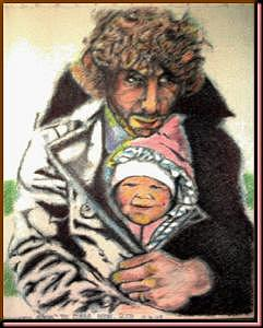 Dad Painting - Daddys Girl by James Boehmer