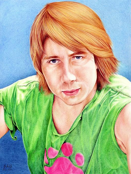 Portrait Drawing - Dan by Sheryl Unwin