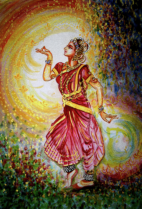 Dance Painting - Dance by Harsh Malik