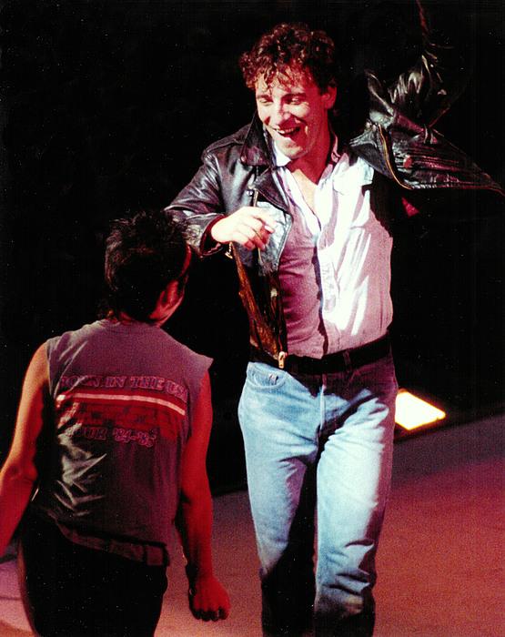 Bruce Springsteen Print - Dancin In The Dark by Thomas Hayden