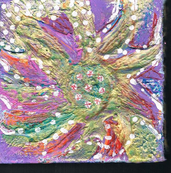Blossom Mixed Media - Dancing Flower Blossom by Anne-Elizabeth Whiteway