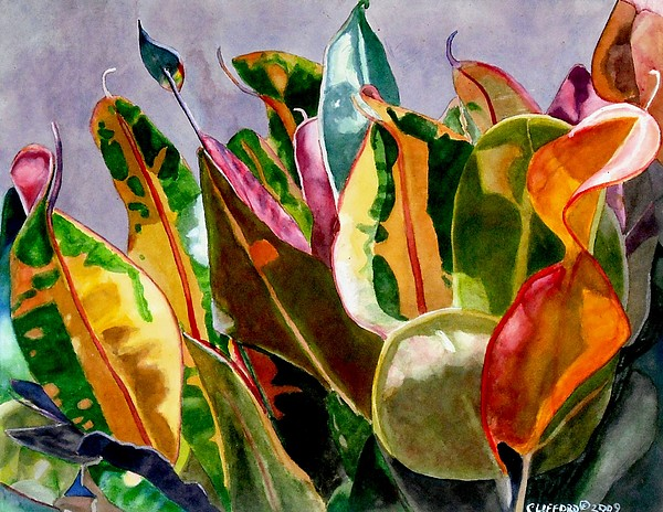 Leafs Painting - Dancing In The Sunlight by Cory Clifford