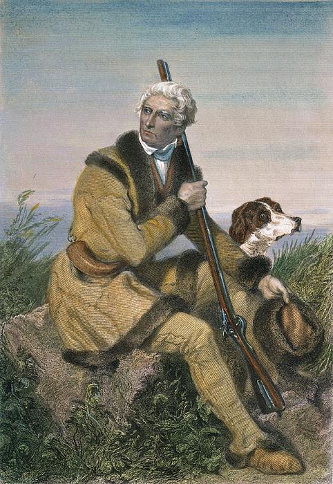 18th Century Photograph - Daniel Boone (1734-1820) by Granger