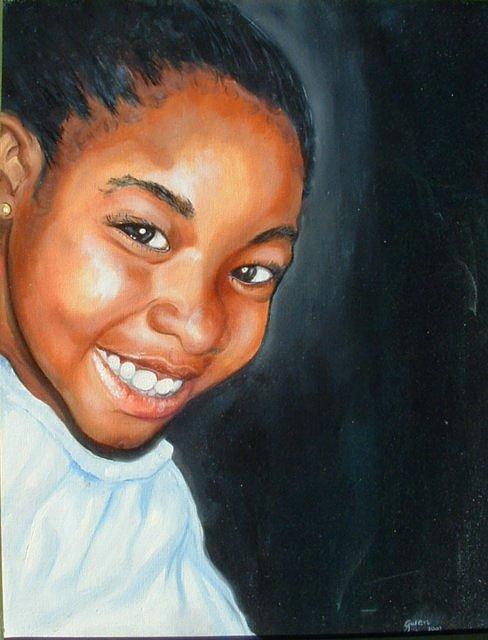 Portrait Painting - Danielle by Gwendolyn Frazier