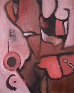 Pink Painting - Dark Love by Scott Spencer