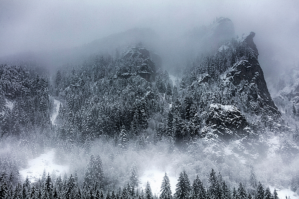 Bulgaria Photograph - Dark Mountain by Evgeni Dinev
