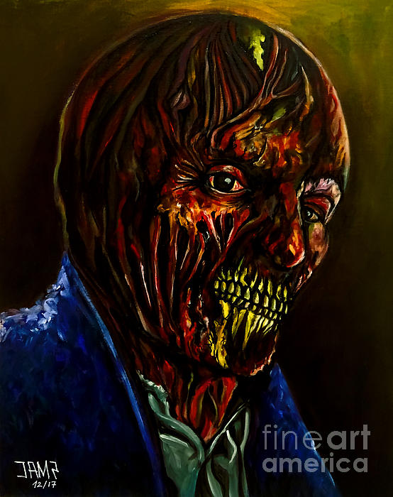 Darkman Painting - Darkman by Jose Mendez
