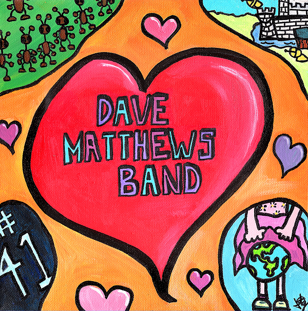 Dave Painting - Dave Matthews Band Tribute by Jera Sky