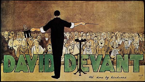 1910 Painting - David Devant Poster C1910 by Granger