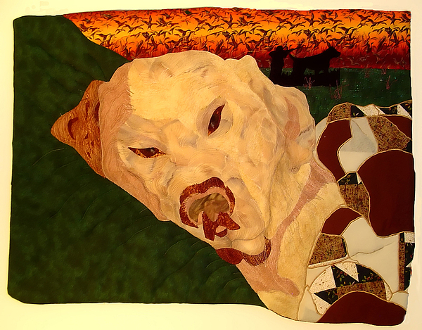 Dog Tapestry - Textile - Dawg Tired by Sandra  Betts