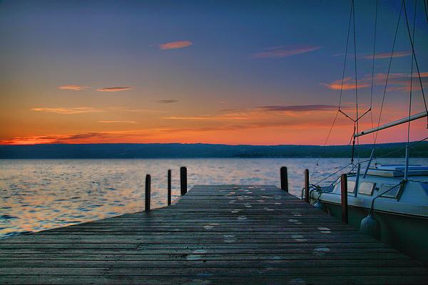 Sunrise Photograph - Dawn Breaking by Steven Ainsworth
