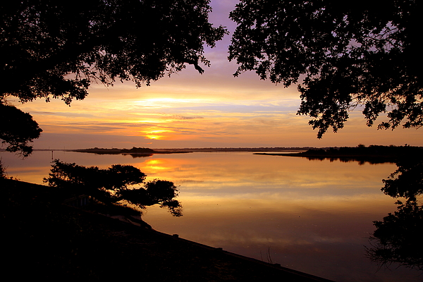Sunsets Photograph - Dawn by Karen Wiles