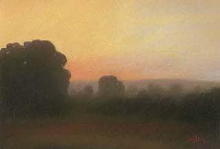 Pastel Pastel - Dawn by Scott Jeffs