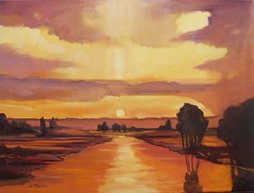 Dawnbreaker Painting by Judith DAgostino
