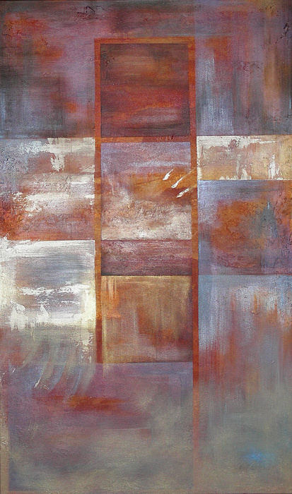 Abstract Painting - Dawntreader by Lenore Walker