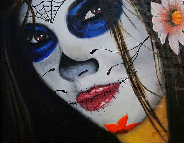 Day Of The Dead Girl Alex Rios