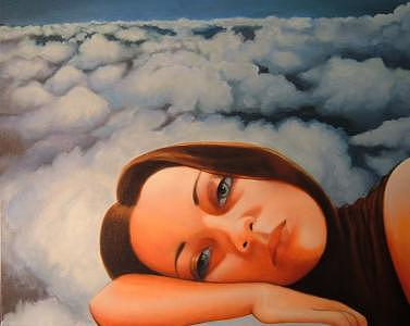 Daydreaming Painting - Daydreamer by Andrew Ek