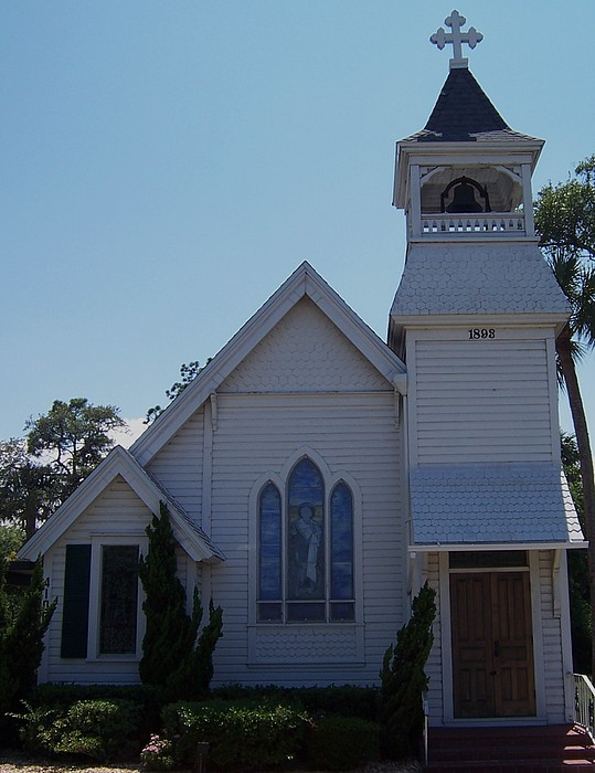 Daytona Church Photograph by Kim Zwick