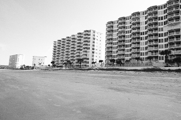 Daytona Photograph - Daytona Skyline by Cory Robertson
