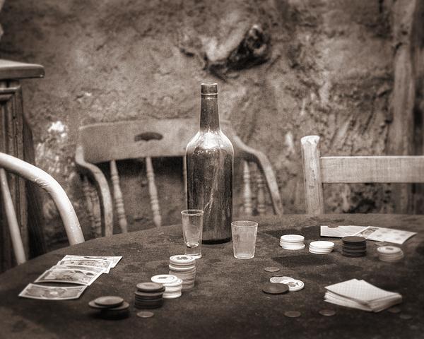 Tombstone Photograph - Dead Hand by Arni Katz