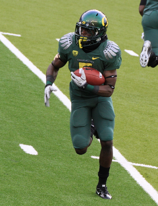 Sam Amato Photograph - Deanthony Thomas Oregon Ducks by Sam Amato