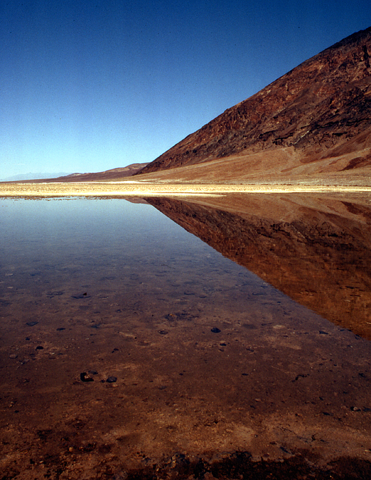 Desert Photograph - Death Valley Lake by Norman Andrus