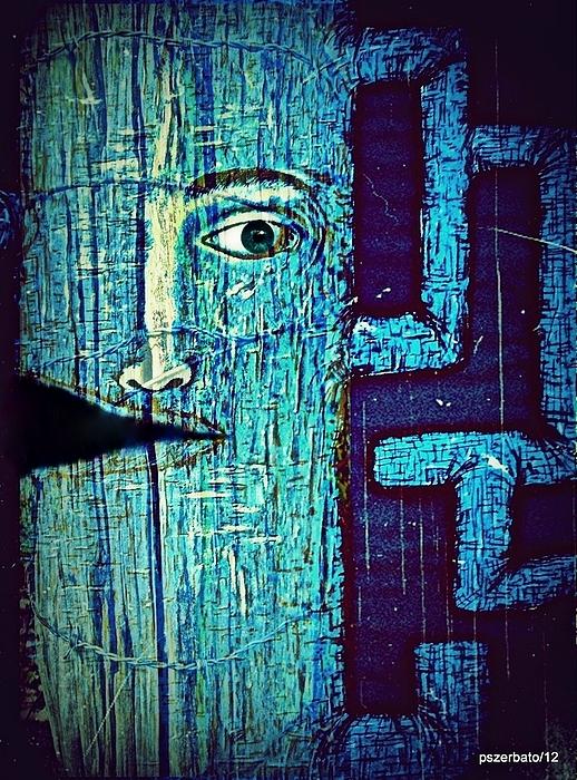 Cut Digital Art - Deep Cut by Paulo Zerbato