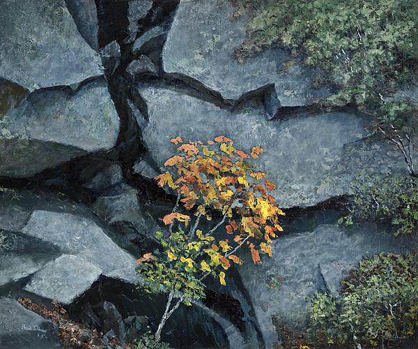 Landscape Painting - Defiance by Paul Illian