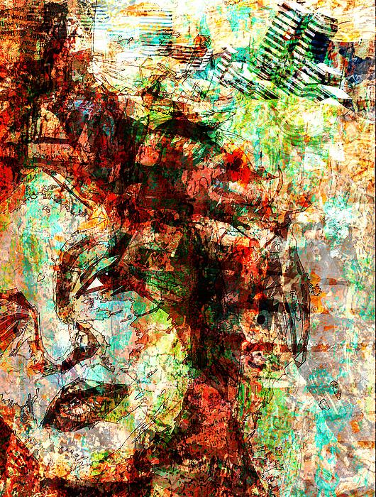Collage Digital Art - Deja Vu by Haruo Obana