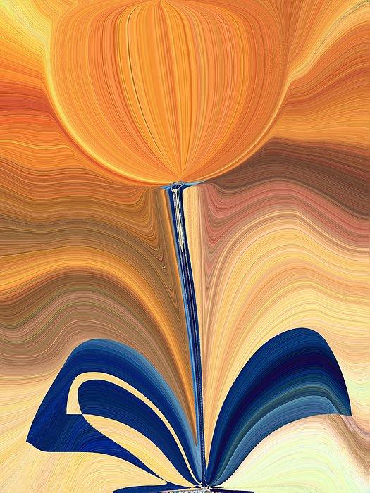 Bloom Digital Art - Delighted by Tim Allen