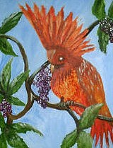 Birds Painting - Delta Mansion by Betty Abrams