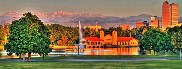 Denver Photograph - Denver Skyline by Scott Mahon