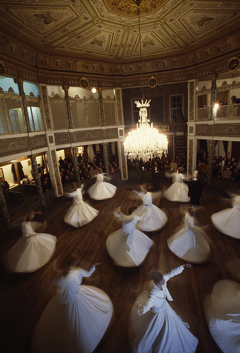 Turkey Photograph - Dervishes Perform A Ritual Dance by James L. Stanfield