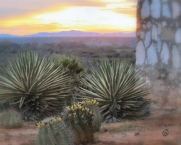 Cactus Photograph - Desert Dawn by Kathy Simandl