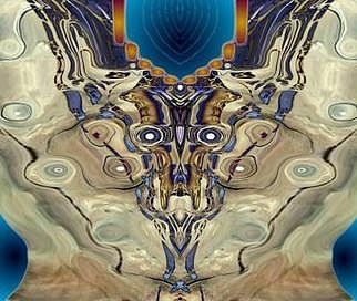Desert Ghost Digital Art by L  R  Emerson II