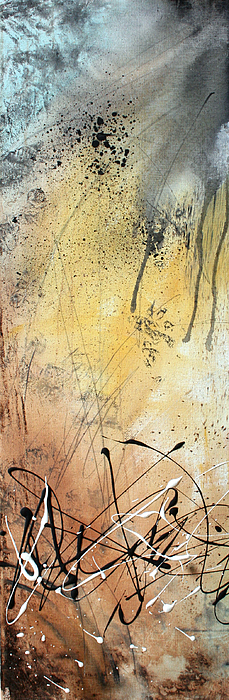 Wall Painting - Desert Surroundings 1 By Madart by Megan Duncanson