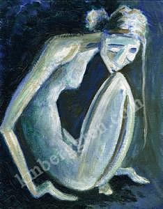 Despair Painting - Despair by Katie m Berggren