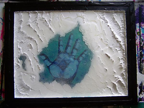 Abstract Painting - Desperation by Nino  B